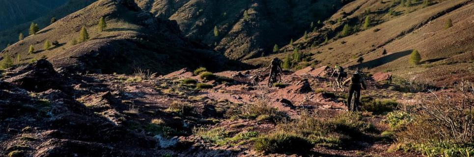 Natur mountainbike